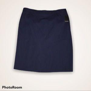 🔥Navy Blue Eloquii Pencil Skirt w/ zipper